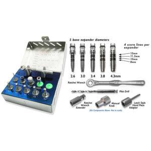 Bone expander kit